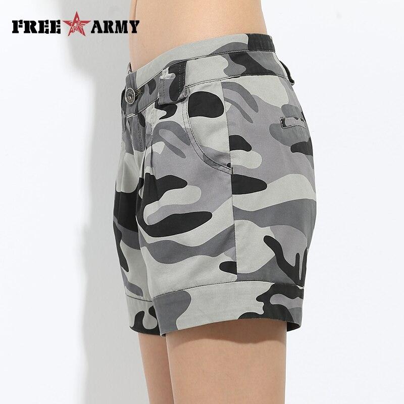 camouflage girl shorts