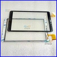 Neue Kapazitive touchscreen WJ1312 FPC V1.0 touch panel digitizer sensor Für 8 ''zoll Tablet Prestigio GNADE 3118 3G PMT3118-in Tablett-LCDs und -Paneele aus Computer und Büro bei