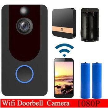 WIFI IP Doorbell 1080 P Video Door bell Night Vision IR Motion Detection Alarm Wireless ประตู