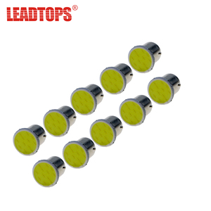 LEADTOPS 10pcs/lot S25 1156/1157 Led COB Reserve Light 12SMD P21W Auto Car Signal Reverse Led White Turn Signals 12V Auto Led BJ