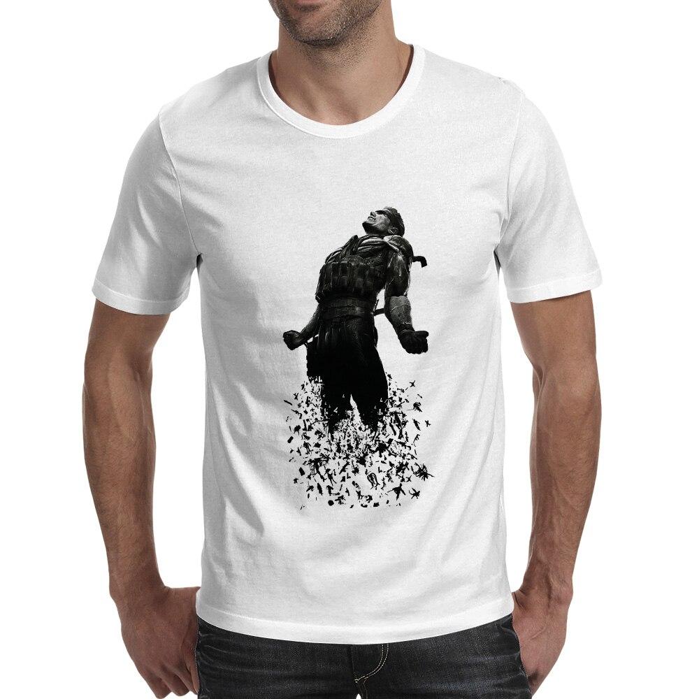 Farewell Snake T-shirt Metal Gear Solid Design Rock Novelty T Shirt Hip Hop Punk Style Women Men Top