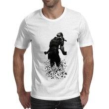 Farewell Snake T-shirt Metal Gear Solid Design Rock Novelty T Shirt Hip Hop Punk Style Women Men Top цена