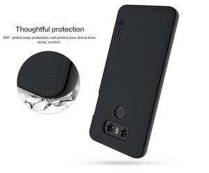 Image 5 - NILLKIN Ultra Slim Case für LG G6 Matt Schild Matte Harte Abdeckung Anti Slip Zurück Shell w/ free Screen Protector + Im Einzelhandel Paket