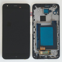 Black LCD Display Touch Digitizer Assembly Frame For LG Google Nexus 5X H790 H791 H798