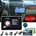 4.3 Polegada Display LCD 8G Tela de Toque Satnav Carro Sistema de Navegação GPS Navigator Sat Nav FM MP3