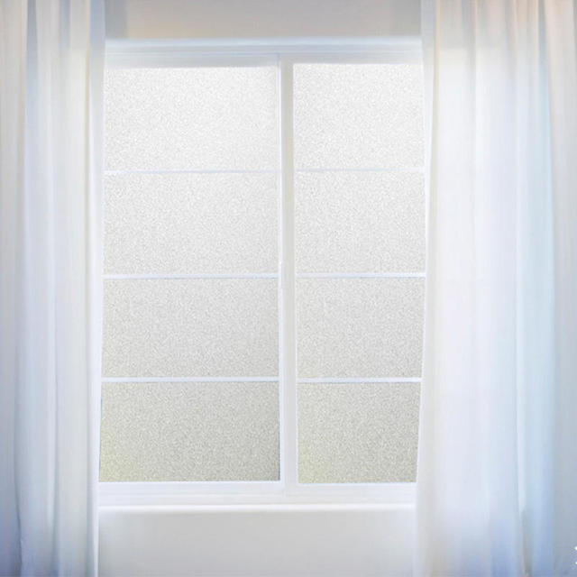 PVC Bathroom Window Film Glass Sticker Home Room Privacy Protection  Protection Waterproof Frosted Cover 45x200cm