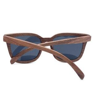 Image 4 - BOBO KUŞ Vintage Güneş Gözlüğü Erkekler ahşap güneş gözlükleri Polarize Retro Bayanlar Gözlük UV400 Ahşap Hediye Kutusu V AG010
