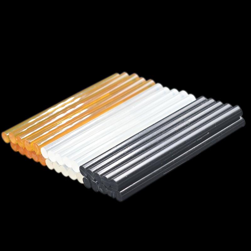 10pcs Hot Melt Glue Sticks 7mm/11mmx100mm For Electric Glue Gun DIY Craft Alloy Toy Art Model Album Repair Adhesive Sticks