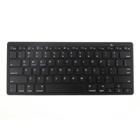 Bluetooth 3 0 Gaming Keyboard Ultra Thin Mini Wireless Keyboard Remote Control For Apple IPad IPhone