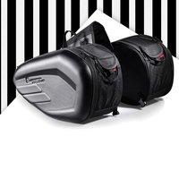 58L Motorcycle Saddlebags Rear Seat Luggage Large Capacity Multi use Expandable Body & Frame Tank Bag & Saddlebags