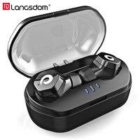 Langsdom Mini Bluetooth Earphone IPX7 Waterproof Sports Wireless Headsets With Mic Fone Sem Fio Auriculares Bluetooth