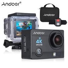 Andoer Q3H-R Action Camera 4K Action Cam 30fps 16MP WiFi Sports Action Camera 1080P Full HD 170 Wide-Angle Lens Waterproof 30m