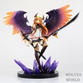 Anime Figura 29 CM Kotobukiya Rage of Bahamut Dark Angel Olivia Ani Estátua PVC Action Figure Collectible Modelo Toy