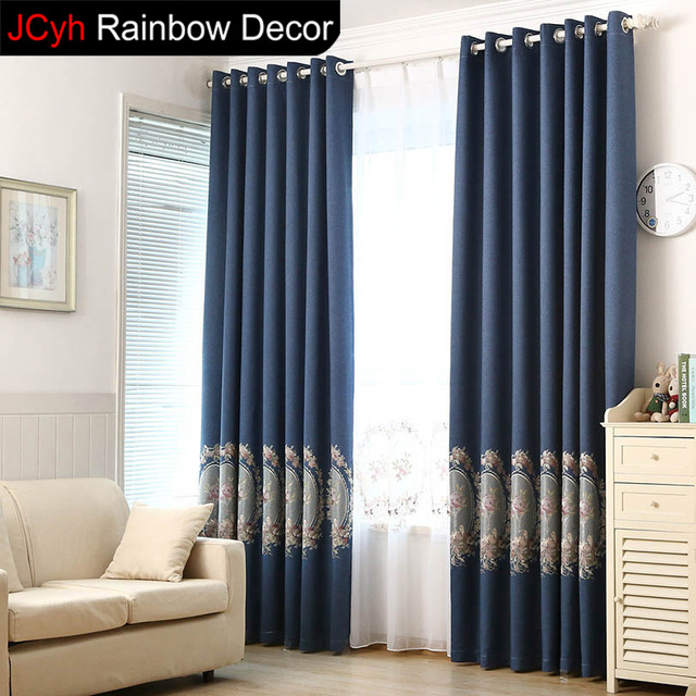 Charmant Tulle Curtains Set For Living Room Green Window Blinds Kitchen Curtains  Panels Door Fabric Blackout Curtains
