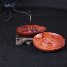 Rosewood crafts Viet Nam rosewood disc-shaped censer of incense and fragrant incense fragrance the fragrant incense tray dish xin loi viet nam
