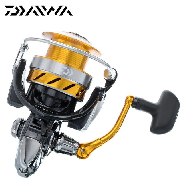 New 2015 Daiwa Brand REVROS 5BB 2000-4000 Spinning Fishing Reel Saltwater with AIR ROTOR ABSII TOURNAMENT DRAG Bass Carp Feeder