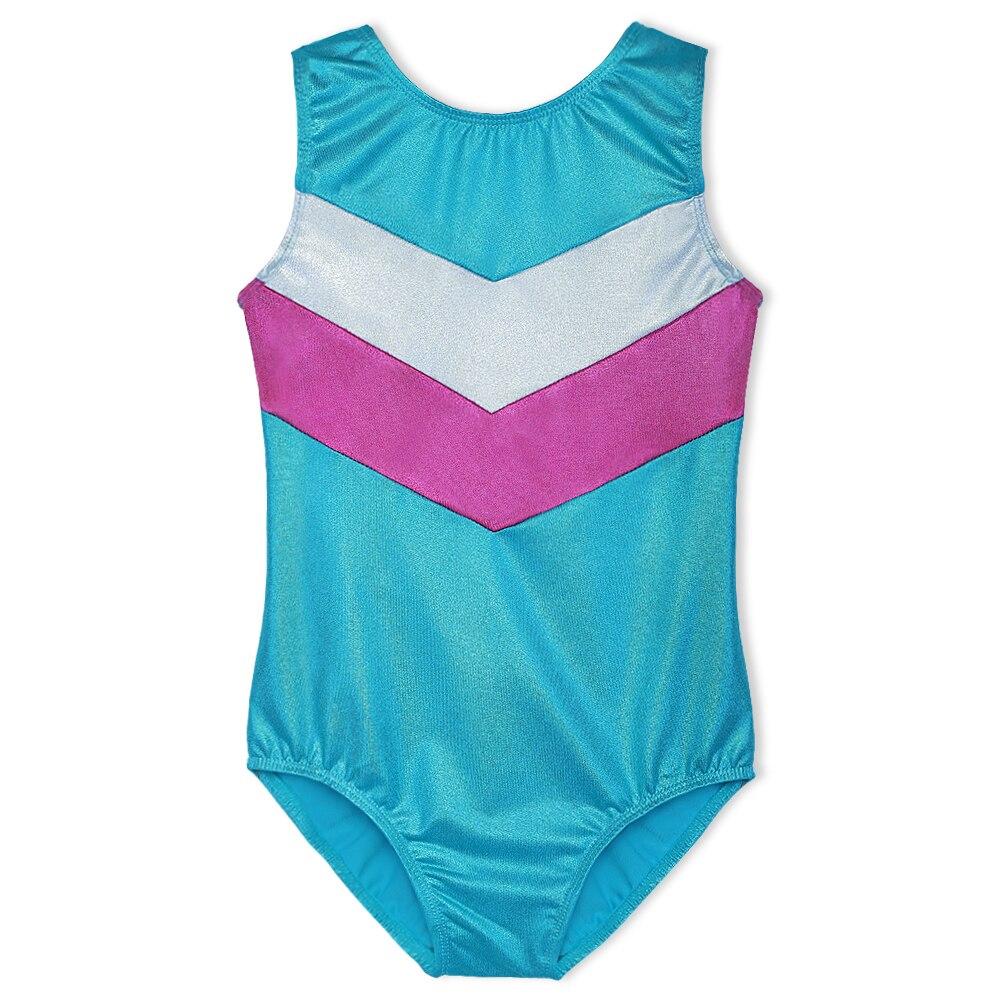 2-13Y Djevojke bez rukava Gimnastika Leotard baletna plesna odjeća - Fitness i bodybuilding - Foto 2