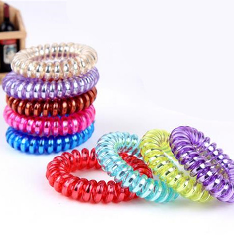 10pcs New girls women hair accessories gum for hair ring high quality Elastic Hair bands rope candy-colored telephone line 10pcs lot high quality telephone line headband gum elastic hair bands candy color rubber band for women girls hair accessories