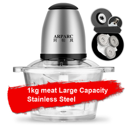 JN16 Household stainless steel automatic mixing ground meat grinder large capacity electric stir stuffing machine