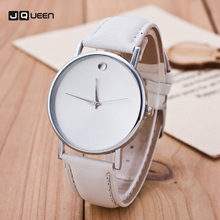 Fashion Casual Simple Design Women's Watches Leather Relogio Quartz Wrist Watch Gold Female Clock