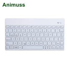 Animuss ultra-thin Aluminum alloy Suitable for IOS ,window,android system bluetooth wireless keyboard