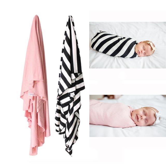120*120 cm 2 unids/lote, Recién Nacido Del Bebé Del Algodón Manta/Manta de Algodón, Super Suave Bebé Swaddle Recibir manta, Sábanas de Las Camas de Bebé