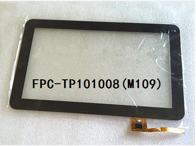 Nueva pantalla original de 10.1 pulgadas táctil capacitiva de la tableta FPC-TP101008 (M109) FPC-TP101008 envío gratis