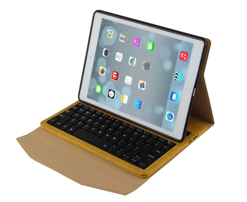 For Apple iPad Air 5 9.7 inch New Crazy Horse Removable Wireless Bluetooth Russian/Hebrew/Spanish Keyboard Stand PU Leather Case removable wireless bluetooth russian hebrew spanish keyboard stand pu leather case for samsung galaxy tab a 9 7 t555 t551 t550