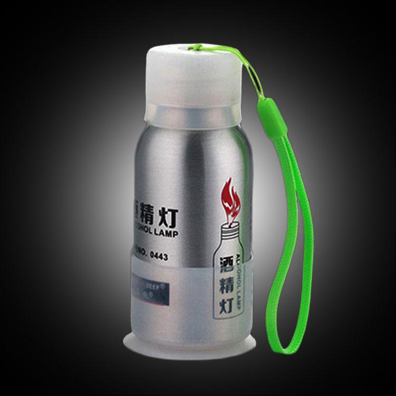 Портативная спиртовая Лампа 50 мл, лабораторное оборудование, нагревательные горелки для кемпинга, пеших прогулок, пикника, мини-адаптер