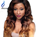 130-180% 10a Glueless Full Lace Wigs Human Hair With Baby Hair Lace Front Human Hair Wigs Ombre Lace Frontal Wig With Baby Hairs
