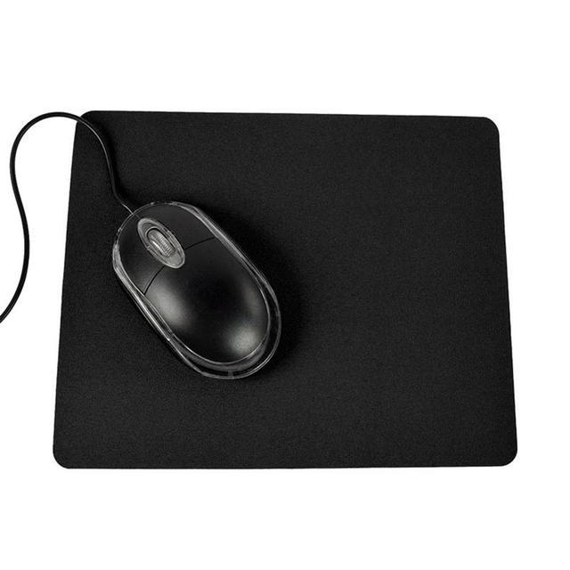 "1 pc 21.5x17.5 ס""מ משחקי מחשב מחשב נייד מחשב עכבר Pad אנטי להחליק מוצק צבע מלבן משטח עכבר מחצלת"