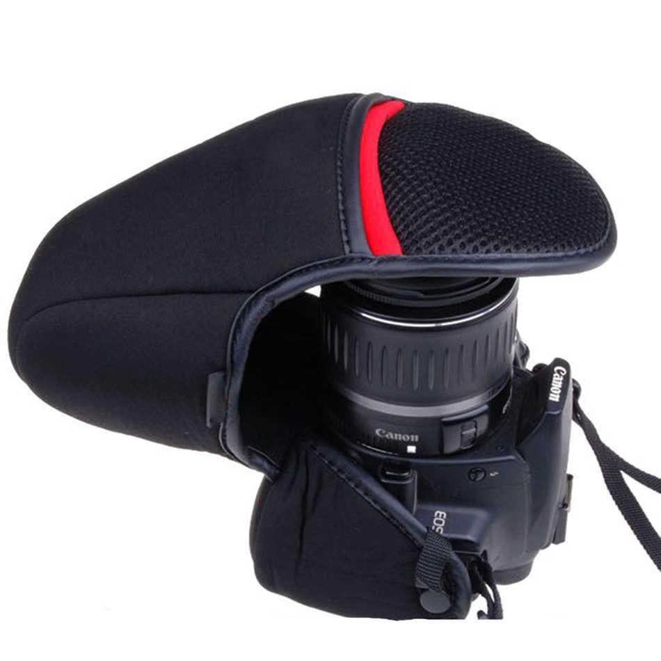 Morbido Neoprene Cassa Della Macchina Fotografica del Sacchetto Per Canon EOS 5D2 5D3 5D4 5D 50D 55D 60D 7D 7D2 70D 77D 750D 1300D 1200D 1100D 80D 800D 700D 760D