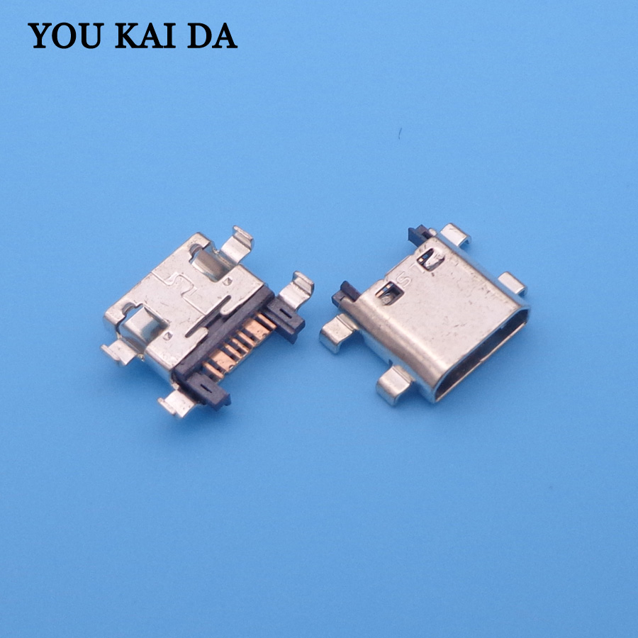 10pcs Micro Usb Charge Connector Charging Port Socket For Samsung J510FN J510G J510M J510Y J710F J710FN J710H S7272 S7275 S7580