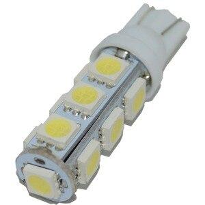 Image 2 - Safego 10 Chiếc T10 W5W 194 168 2825 LED Wedge Bóng Đèn Thay Thế 5050 13 SMD Tự Động Xe Hơi Ô Tô Trang Trí Nội Thất Đèn trắng Ấm 5000K 6000K