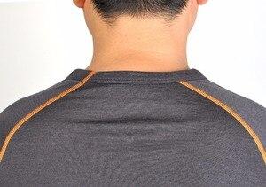 Image 4 - Camisa de manga larga para 100% de lana Agujeros de pulgar