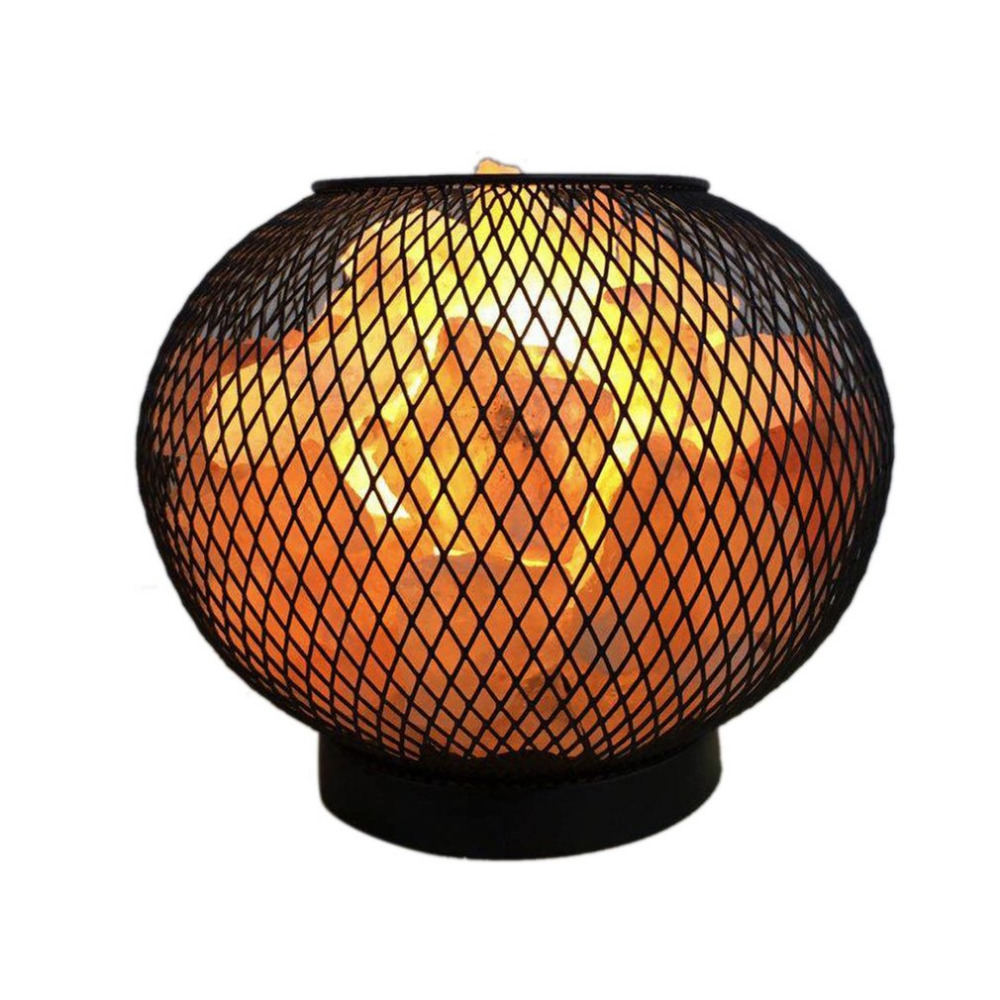 где купить Himalayan Crystal Rock Salt Lamp LED Bedroom Night Light Air Purifier Bedside Atmosphere Lamp with Built-in Battery Case по лучшей цене