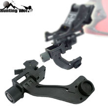 Tactische Polymeer Digitale Nachtzicht Scope Mount Base Adapter Bracket voor Hunting Helm Rifle Scope Pvs 14 Pulsar GS 1X20(China)