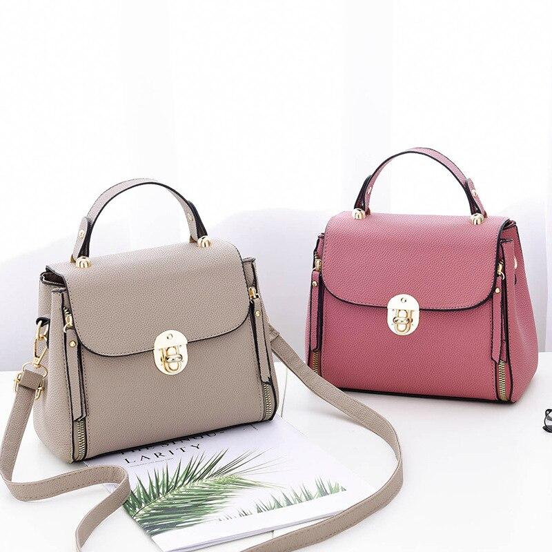 Hot Sale Messenger Bag for Women Bag Ladies' PU Leather Handbags Luxury Quality Female Shoulder Bags Famous Women Designer Bags