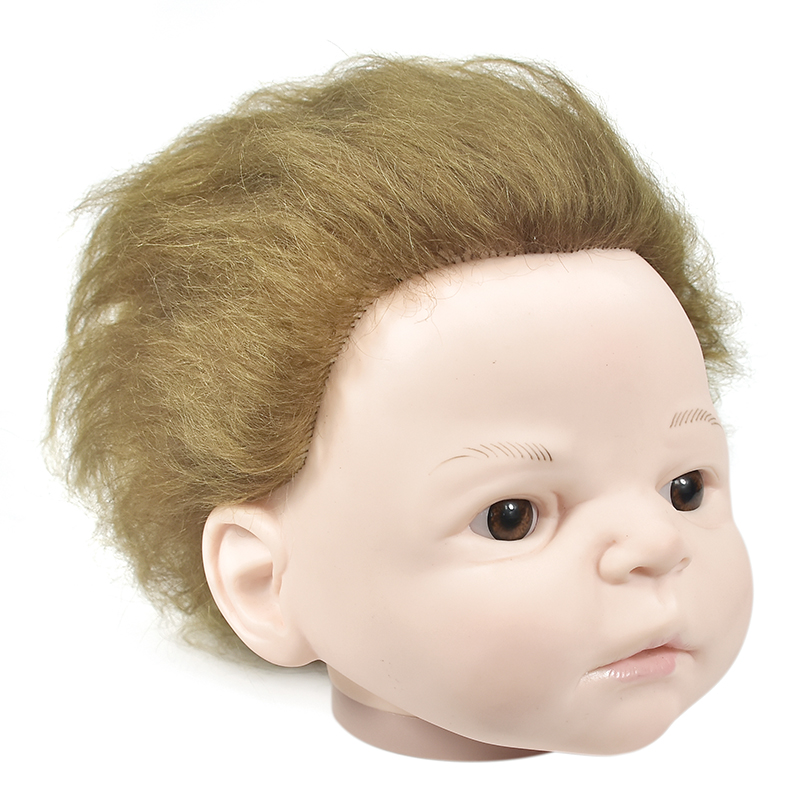 Figure Option Head Toys Accessories PVC Doll Head For Pregnant Mother Female Mannequin Doll Head Mini Mannequin Head Dolls