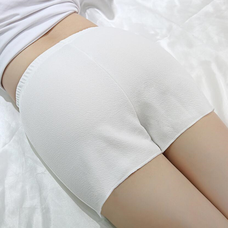 CUHAKC High Quality Women Daily Shorts Boxer Femme Summer Casual Breathable Cotton Under Black Hot Sale White Shorts