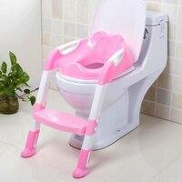 Children Potty Training Ladder Seat Kids Toilet Trainer Toddler Step Stool Portable Travel Seats Steps MY1923 02