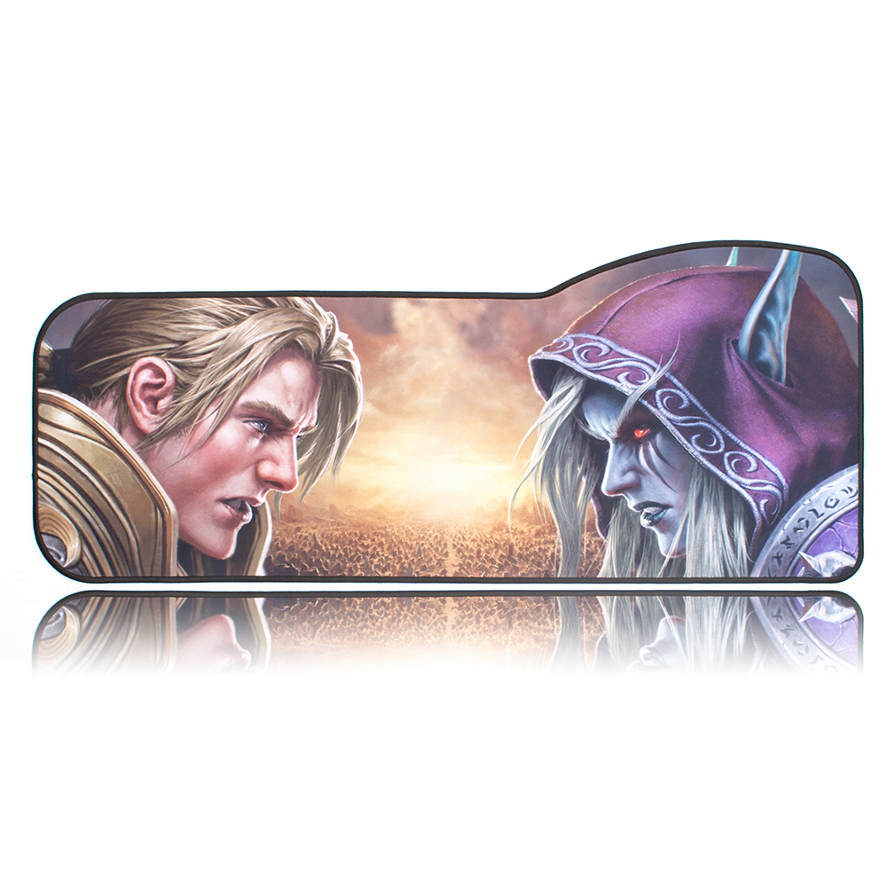 WOW Gaming Mouse Pad Skid-proof & Stitched edges Large keyboard Mice Desk Mat for Office Work PC gaming World of Warcraft 8.0