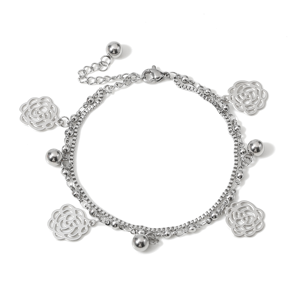 TL Bracelet Bijoux Traditionnelle Rose Bracelet Femmes Bracelets Bracelet Bracelet Mariée De Mariage Bracelet Ensemble