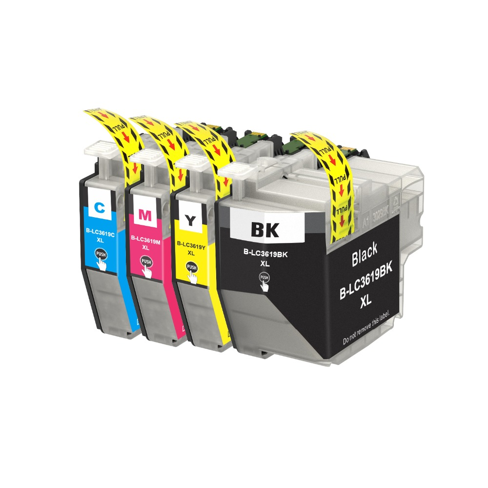 INK WAY LC3619 ink cartridge 1 Black 1 Cyan 1 Magenta 1 Yellow for MFC J2330DW