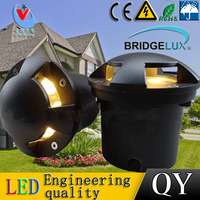 3Pc/lot 3*2W ground floor recessed lamp foot lamp led underground LIGHT lamps Buried ground 85 265V