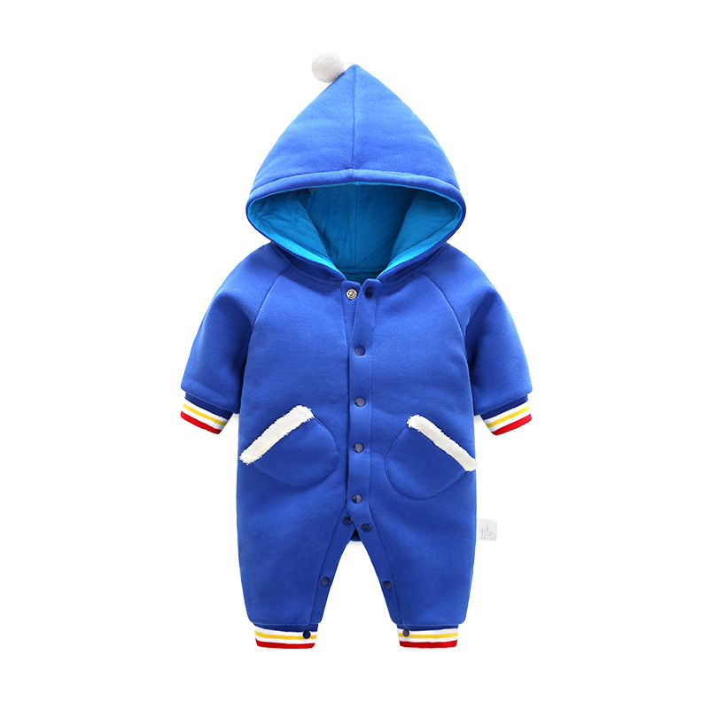 Spring Autumn Baby Boys Girls Jumpsuit Newborn Romper Costumes Baby Romper Long Sleeves Clothes Infant Romper H72 hhtu 2017 infant romper baby boys girls jumpsuit newborn clothing hooded toddler baby clothes cute elk romper baby costumes