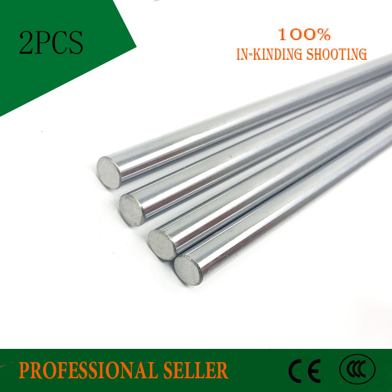 2pcs 12mm 12x800mm linear shaft 3d printer 12mm x 800mm Cylinder Liner Rail Linear Shaft axis cnc parts2pcs 12mm 12x800mm linear shaft 3d printer 12mm x 800mm Cylinder Liner Rail Linear Shaft axis cnc parts