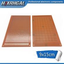 1 шт. 9x15 см 9*15 DIY Прототип бумаги PCB Универсальный Эксперимент Матрица печатной платы hjxrhgal