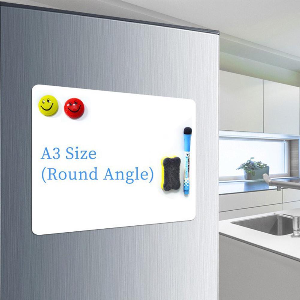 Deal^Cooler Magnet Notepad Refrigerator Drawing Children A3 R20 Flexible Waterproof¡