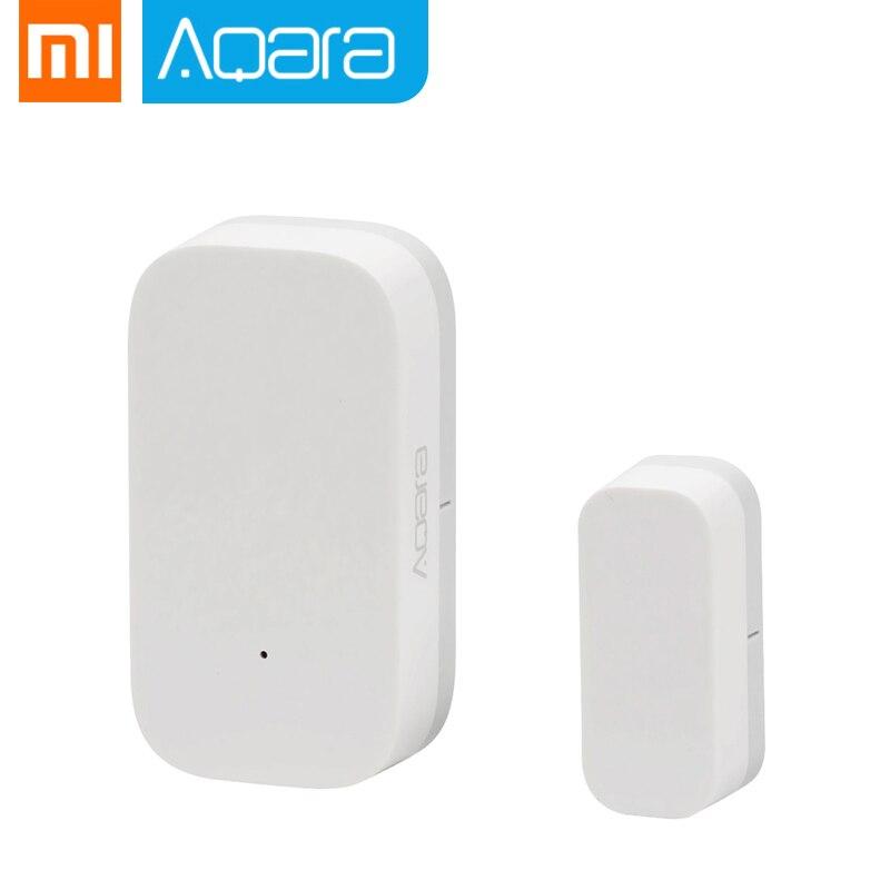Cheapest Xiaomi Aqara Door Window Sensor Zigbee Wireless Connection Smart Mini Door Sensor Work With Android